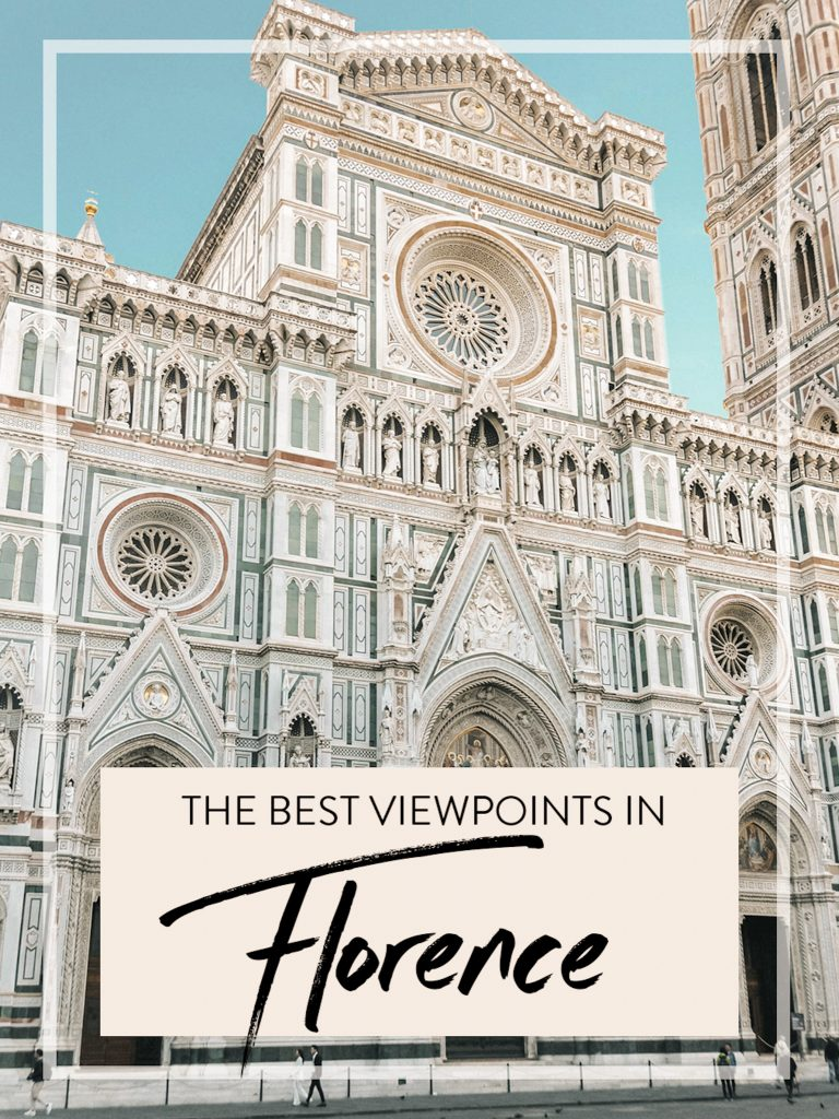 The best viewpoints in Florence