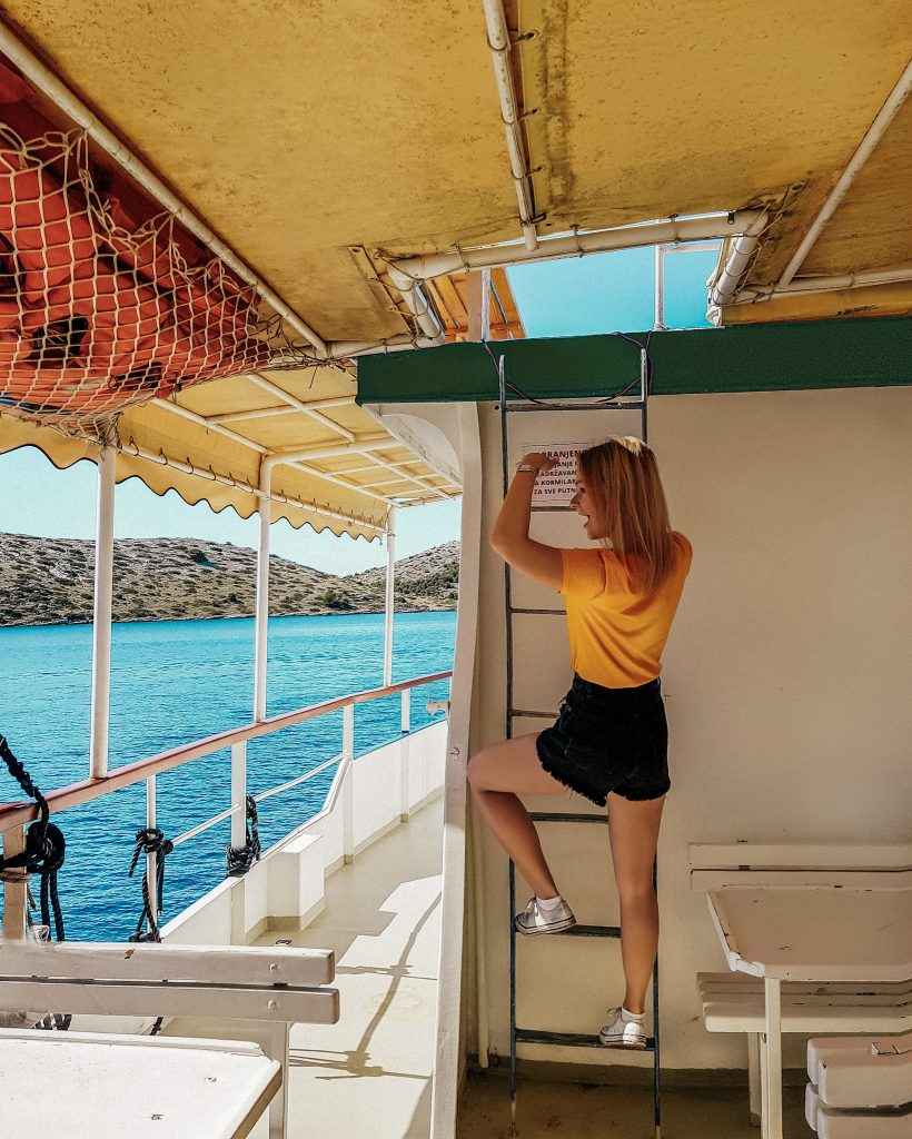 Boat tour to Kornati National Park in Croatia